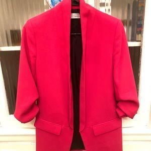 Zara Bright Pink Blazer - this Season XS Like New!